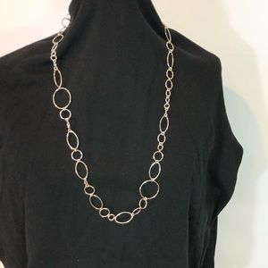 Jewelry - Silver Tone Large Link Necklace